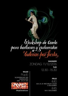 Workshop de cante para bailaores y guitaristas