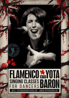 Flamenco Singing Lessons with Yota Baron