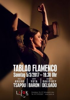 Tablao Flamenco, 5/3/2017