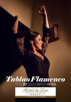 Tablao Flamenco, Hotel du Lac, 27/12/2017