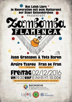 Zambomba Flamenca, 2/12/2016